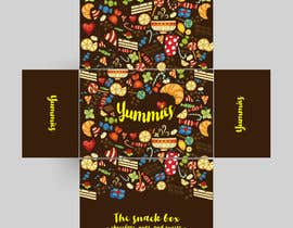 #19 for Snacks Box Packaging Design by madlabcreative