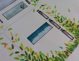 Nro 4 kilpailuun watercolour watercolor hand sketch artwork käyttäjältä arqfernandezr