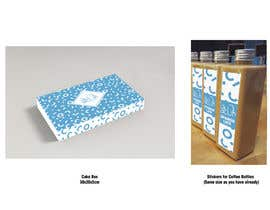 #27 for packaging for a cafe af milyunatintas
