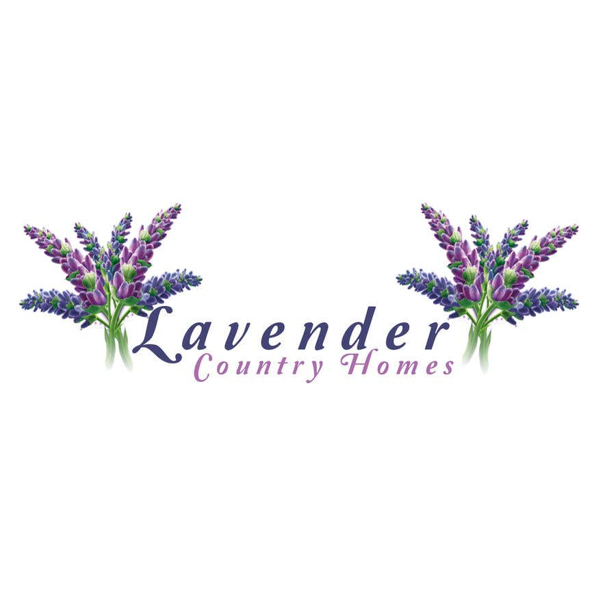 """Proposition n°140 du concours LOGO for sign- """"Lavender Country Homes"""""""