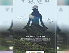 #55 for Yoga Classes Flyer by meenapatwal