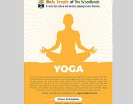 #25 for Yoga Classes Flyer by darbarg