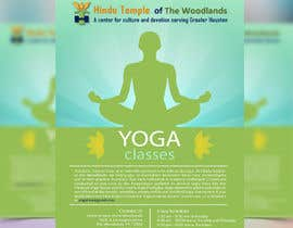 #52 for Yoga Classes Flyer by snusrat