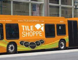 #56 for Tile Shoppe Bus Wrap af faryalkhokhar