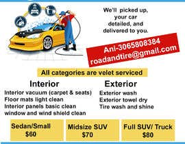 #5 for Design an Advertisement - Valet Auto Wash Service by designersumitra