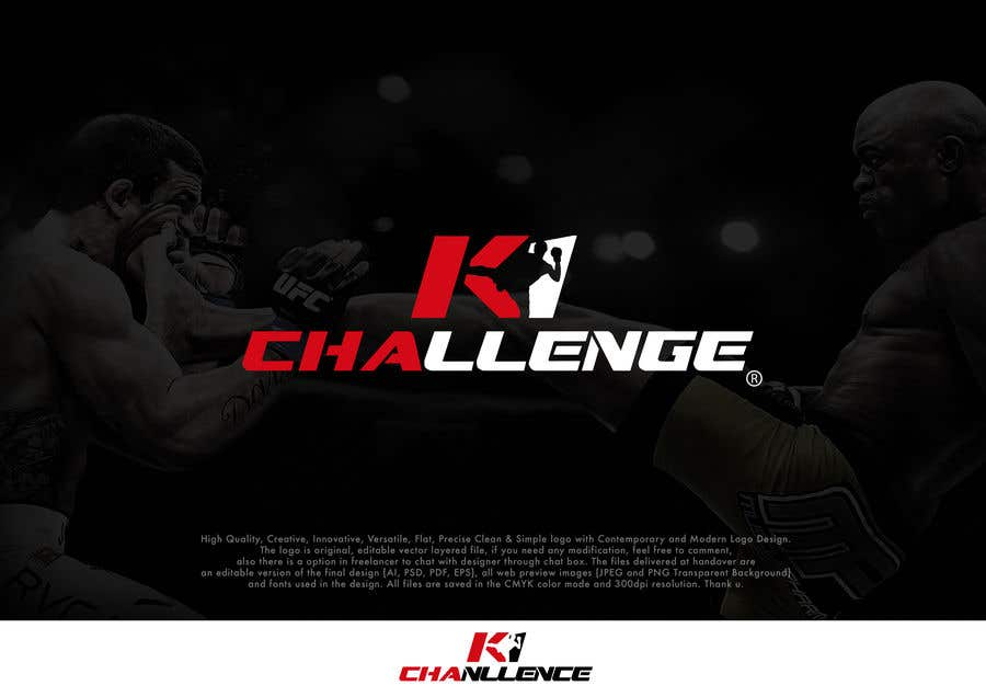 Proposition n°74 du concours Create a Logo and corporate identity for a kickboxing tournament