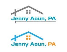 "#88 for I need a logo realyed to real estate, must be elegant and professional. The name must include ""Jenny Aoun, PA."" by asadmohon456"