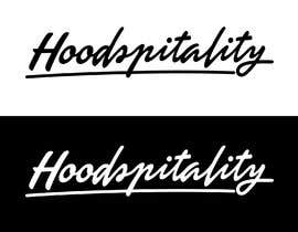 "ericabao tarafından I need a logo for my company ""Hoodspitality"". Looking for a logo in lettering format. Just the word spelled out in custom font. Clean. için no 27"