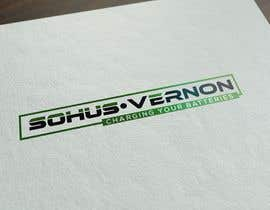 #11 for I need a logo designed.   With box around the below :   SOHUS•VERNON  charging your batteries  Coulours white / green / greys  High quality   Clear back ground in all formats to be supplied by NeriDesign