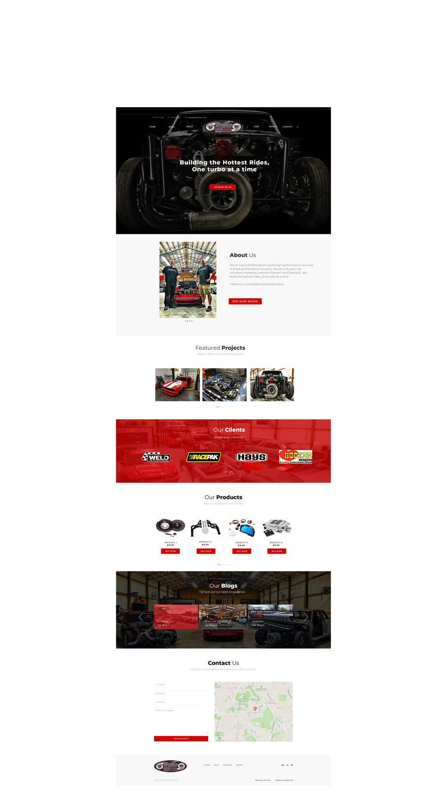 Contest Entry #9 for Design website home page