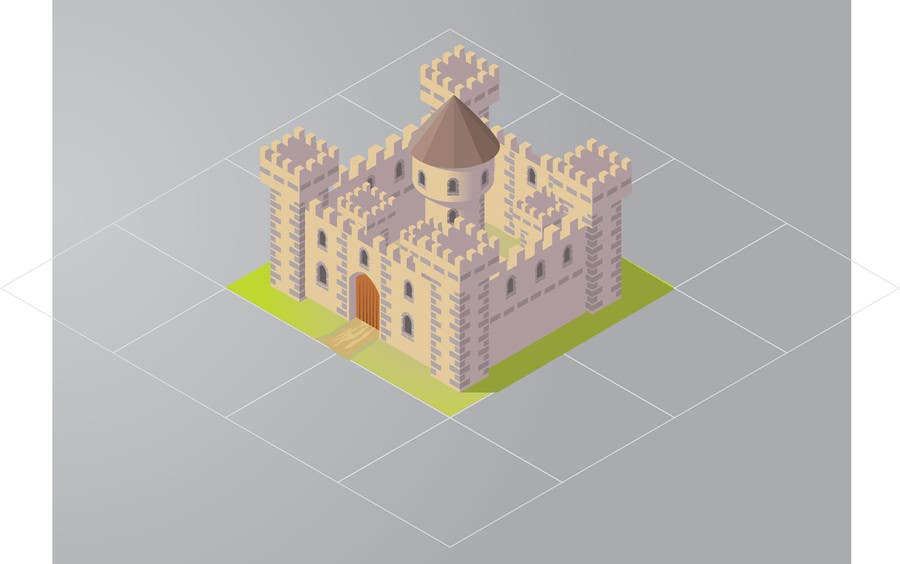 Contest Entry #7 for 50 isometric building designs for iPhone/Android city building game