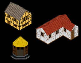 sandaruwani5 tarafından 50 isometric building designs for iPhone/Android city building game için no 15