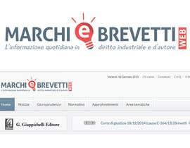 #74 untuk Restyling logo Marchi e Brevetti web oleh marcocaltagirone