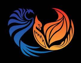 #6 para Fire and Water Phoenix Logo por dewannasiruddin
