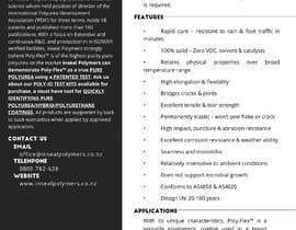 #41 for product data sheet af sashmirYap