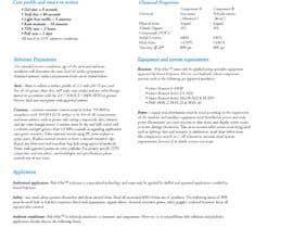 #37 for product data sheet af sameershaikh134