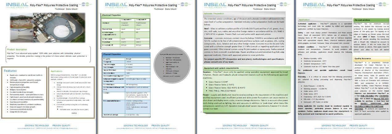 Konkurrenceindlæg #11 for product data sheet