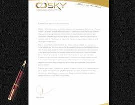 #22 for Design company letterhead by hossaingpix