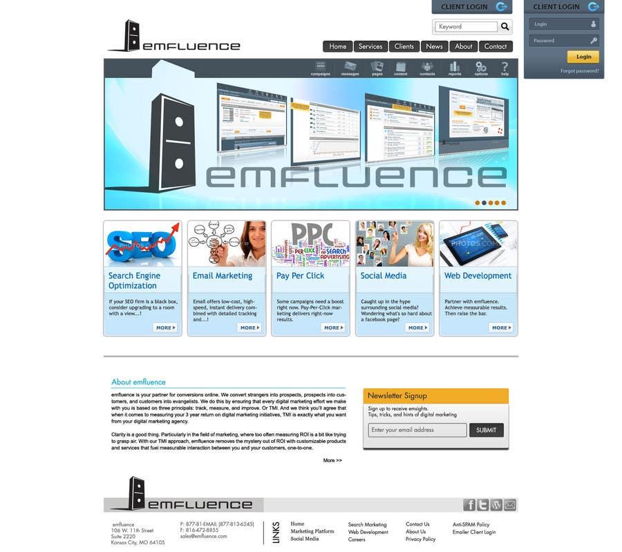 #65 for Website Design, Responsive, HTML5 by yadbinder
