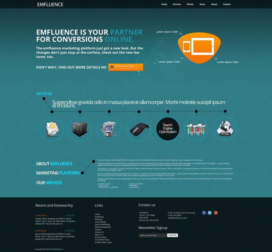 Inscrição nº                                         25                                      do Concurso para                                         Website Design, Responsive, HTML5