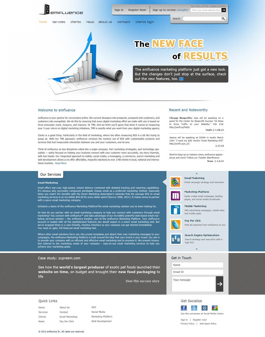 #45 for Website Design, Responsive, HTML5 by sudee1976