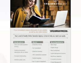 nº 37 pour Advertisment banner for dreamway media par saleh95