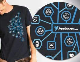 #4729 สำหรับ T-shirt Design Contest for Freelancer.com โดย lcoolidge