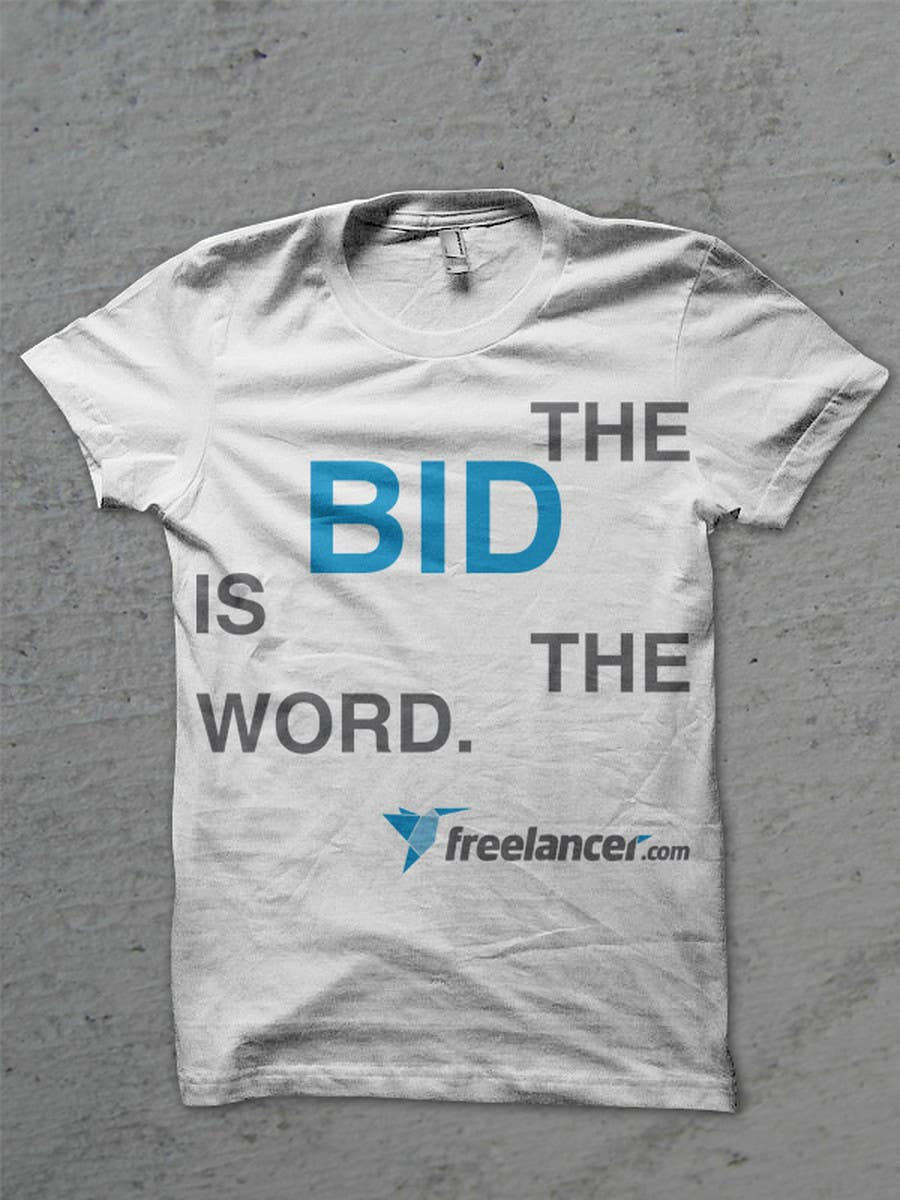 T-shirt Design Contest for Freelancer.com 콘테스트 응모작 #4004