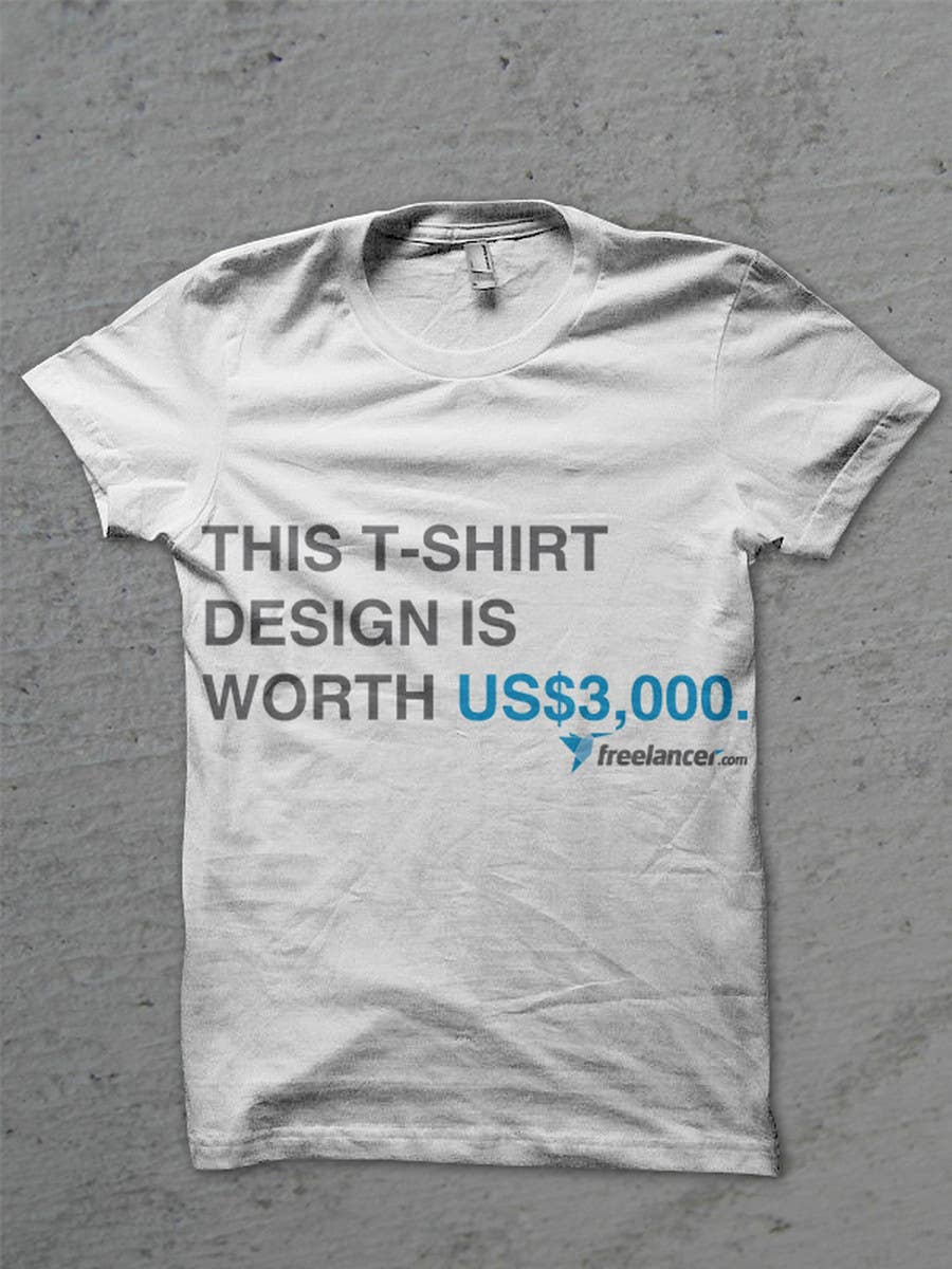 Contest Entry #4005 for T-shirt Design Contest for Freelancer.com