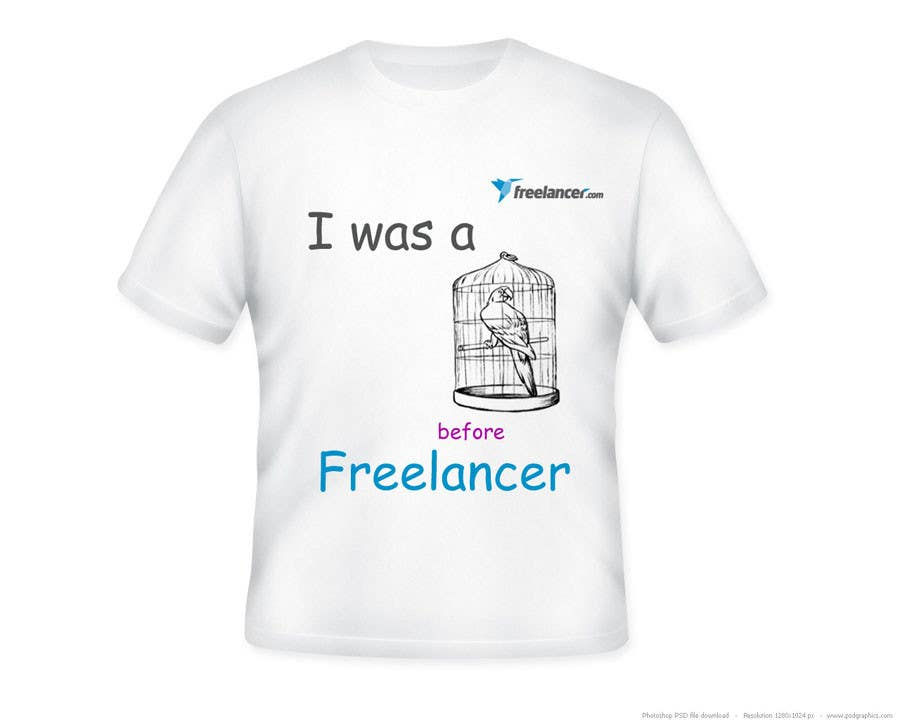T-shirt Design Contest for Freelancer.com 콘테스트 응모작 #5108