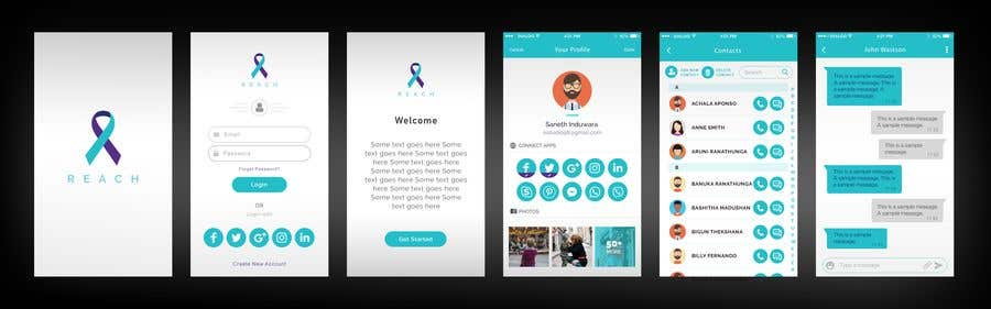 Entry 8 By Sanethinduwara For Wireframe Design For Ios Android Mobile Web App Freelancer