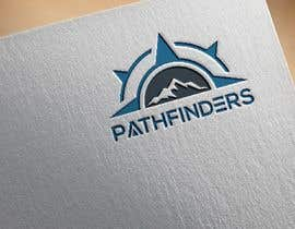 nº 40 pour PATHFINDERS - Mountain Retreat Compass Logo par RupokMajumder