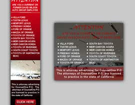#37 para Design a Banner for law firm por baten1717