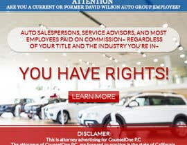 #45 para Design a Banner for law firm por Logodesignr18