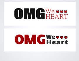nº 92 pour Logo Design for new Company name: OMG We Heart.  Website: www.omgweheart.com par oleoleku