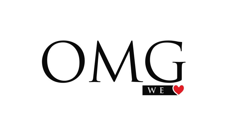 Proposition n°205 du concours Logo Design for new Company name: OMG We Heart.  Website: www.omgweheart.com