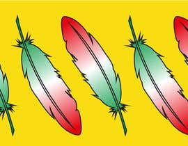 #18 para Draw a picture of a bird feather with Italian colors por DagmaCreative