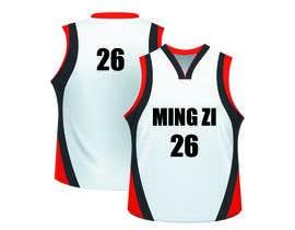 nº 11 pour Basketball jersey par DesignMW