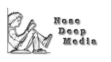 Kilpailutyö #                                        195                                      kilpailussa                                         Logo Design for eBook company Nose Deep Media