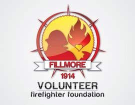 #66 dla Logo Design for Fillmore Volunteer Firefighter Foundation przez elchief84