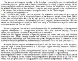 #1 for Compare 3 Virtualisation Host Software (700 words) by mirgorodskyev