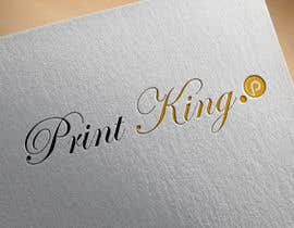 #84 for Design a Logo for PRINT KING by abadoutayeb1983