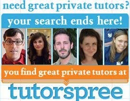 #39 for Banner Ad Design for www.tutorspree.com af kosmografic