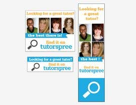 #63 para Banner Ad Design for www.tutorspree.com por puicolorat