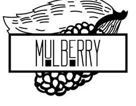 #3 for A chic, simple logo designed for a restaurant. Use a metallic and a Matt colour mix. Mulberry shares its name with a luxury clothing brand- must not imitate them. Mulberry is a middle eastern white berry grown in a tree. Food of the silk worm. af dorathlmnr