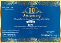 #101 for Corporate Party Invitation Design for 10th anniversary by venug381