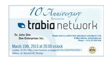 #11 for Corporate Party Invitation Design for 10th anniversary by dirak696