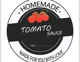 "#10 for 2.5"" round labels for Homemade Tomato Suace in a jar af MuqeettheLegend"