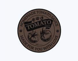 "#12 for 2.5"" round labels for Homemade Tomato Suace in a jar af NicholasPuri"