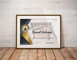 #8 for Design a Martial Arts rank certificate by sununes